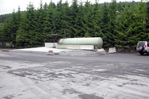 Betriebstankstelle für Diesel