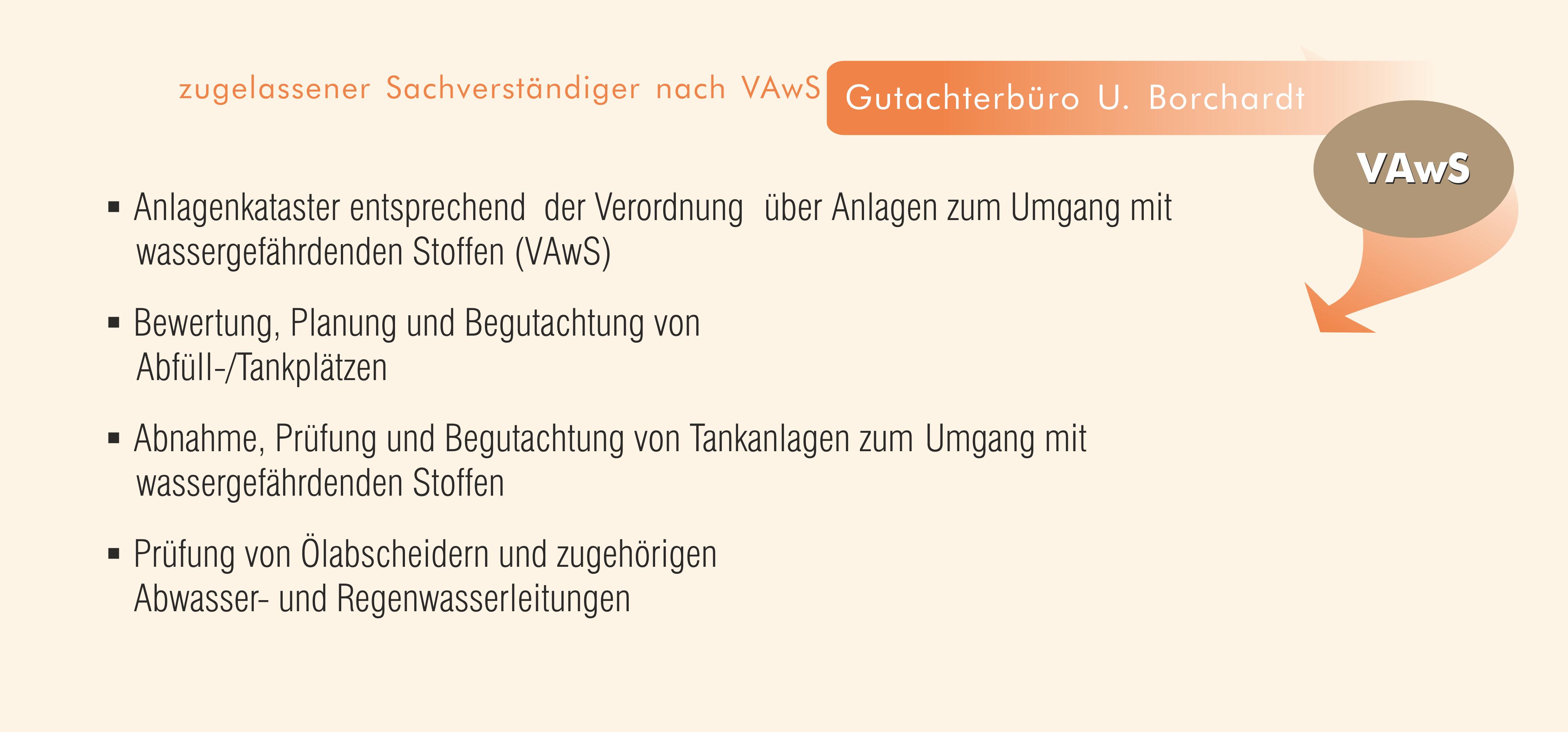 Gutachterbüro Ulrich Borchardt - Unsere Leistungen